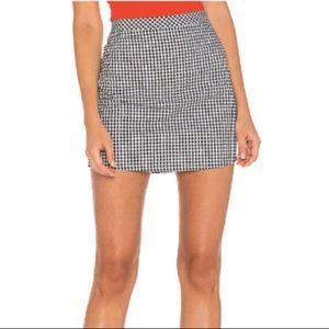 MAJORELLE x REVOLVE Gingham Mini Skirt